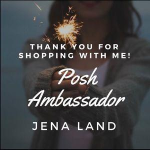 Thank You for helping me reach Posh Ambassador!
